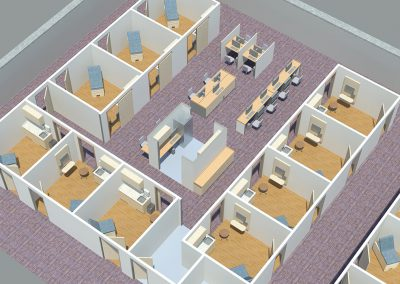 3D_MOB_Planning_Internal_Nurses_Station_2_Way_Flow
