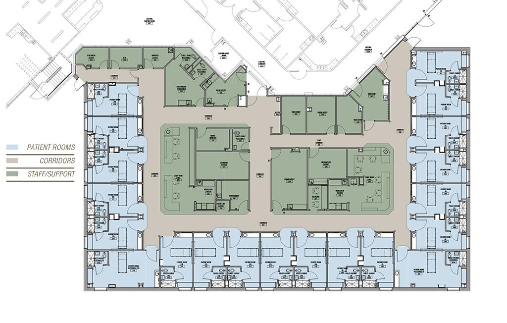 Meritus RICUnit floorplan