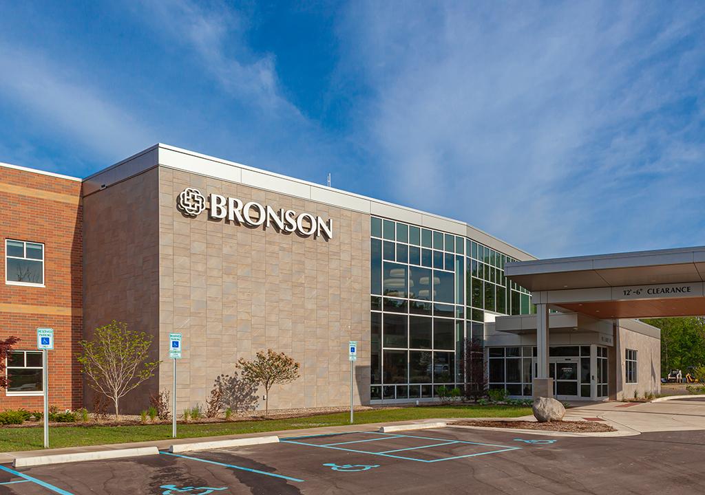 Bronson South Haven Hospital- East Façade